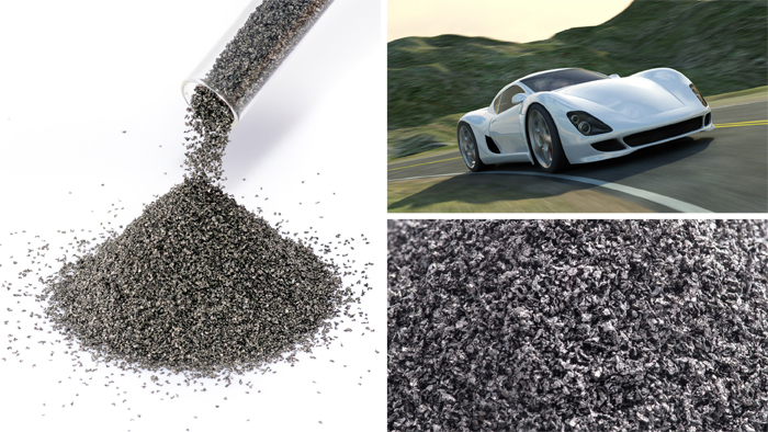 Stainless steel alloy powders for automotive industry