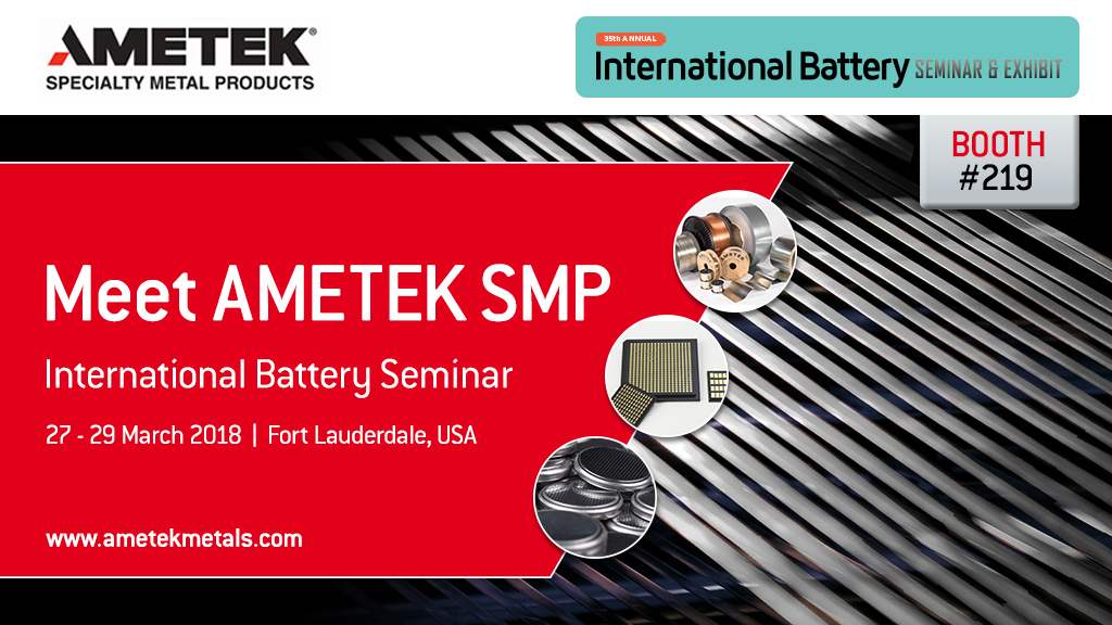 AMETEK SMP at Battery Seminar