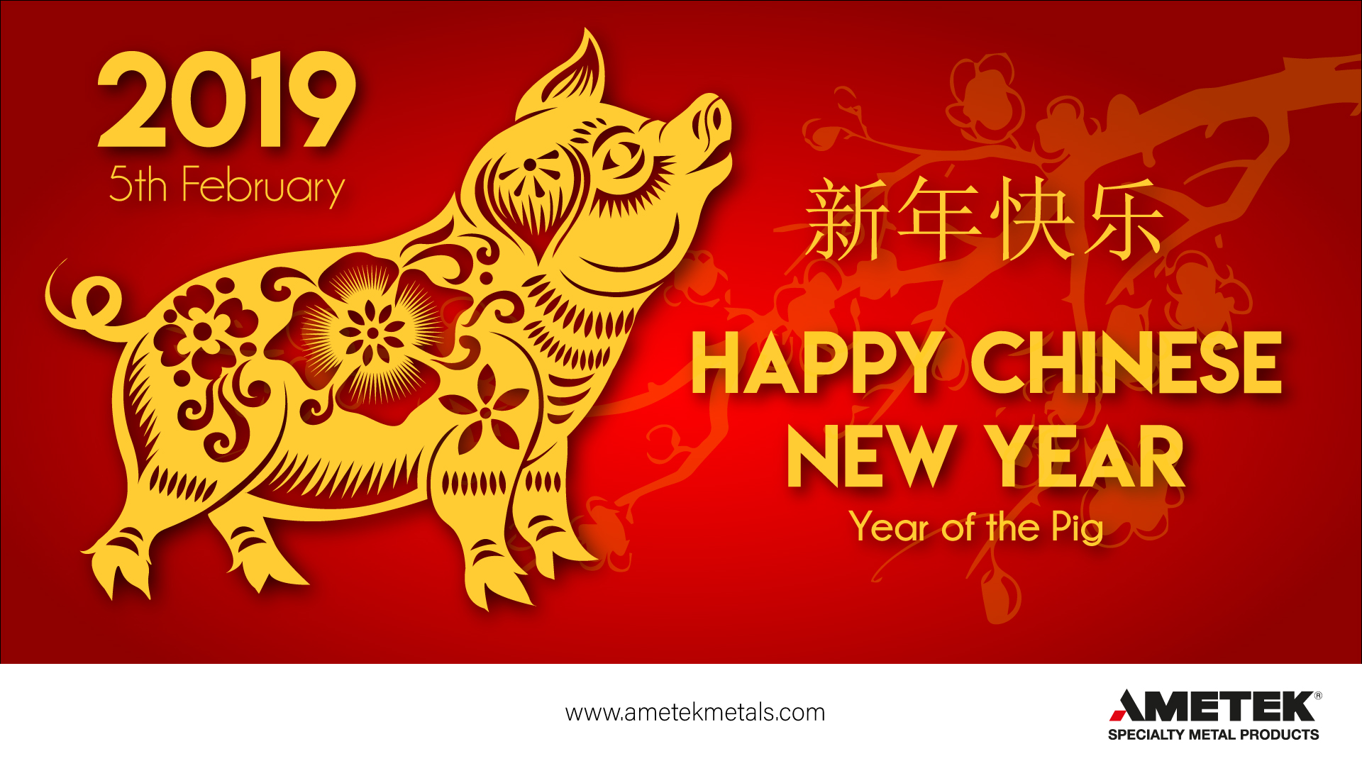 Happy Chinese New Year from AMETEK SMP