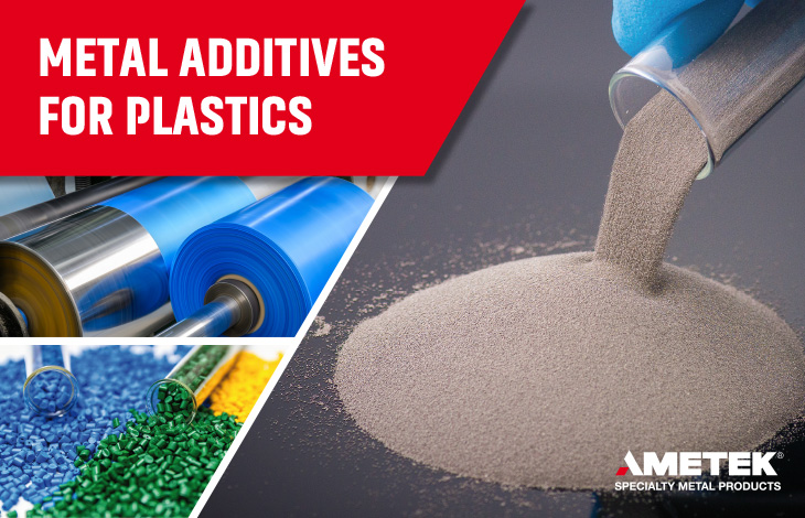 Metal additives for plastics