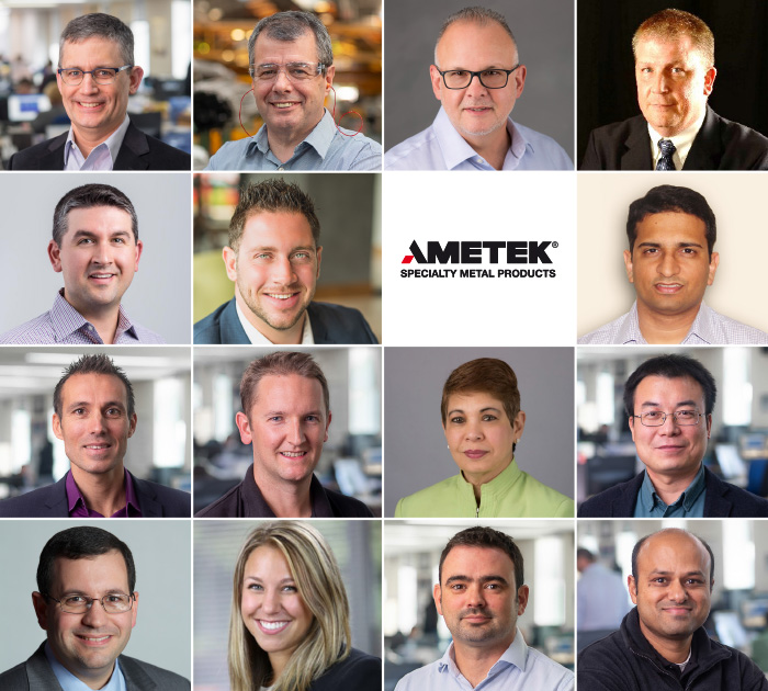 Key appointments at AMETEK Specialty Metal Products in customer service and operations