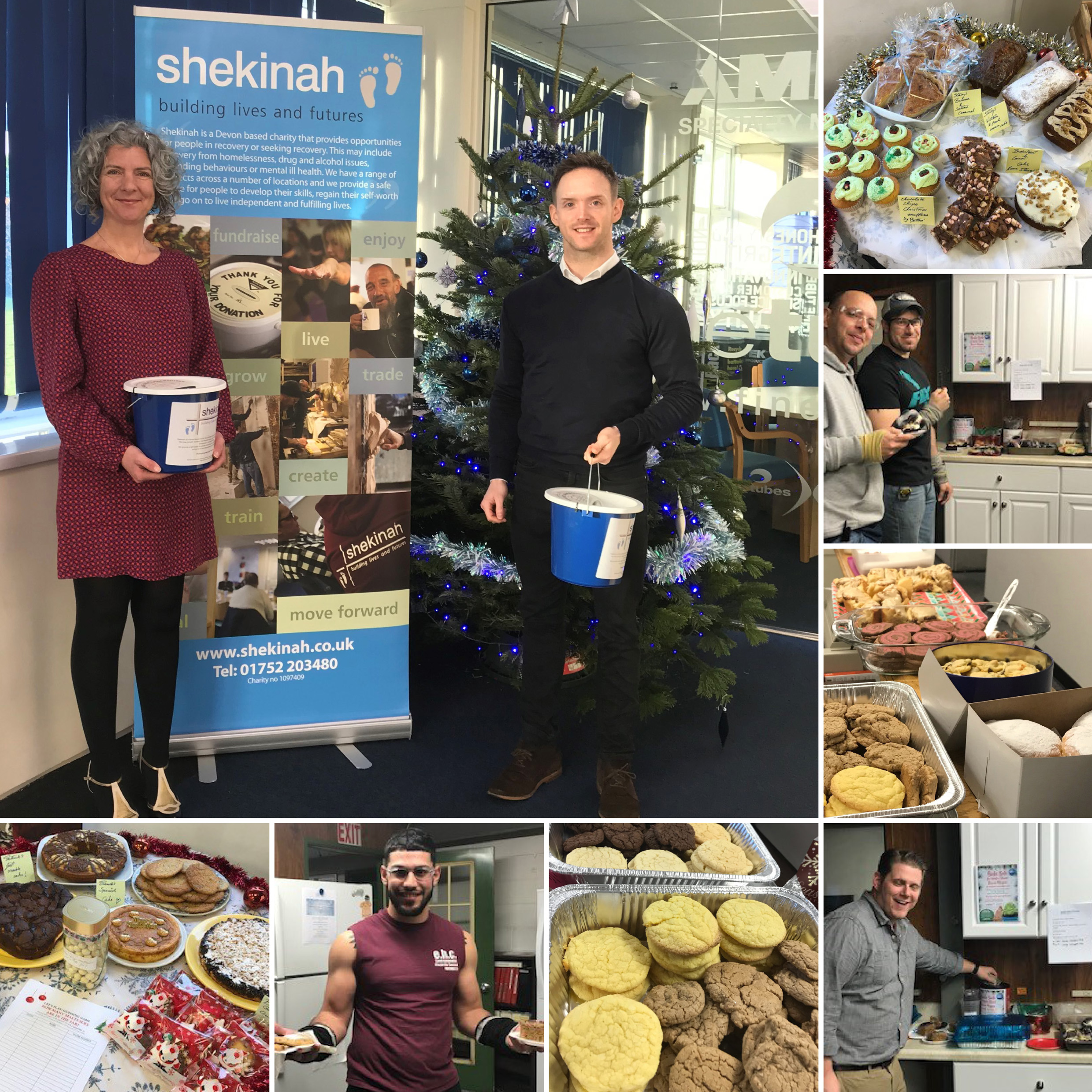 Employees at AMETEK Specialty Metal Products held bake offs in support of local charities for Christmas