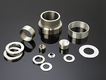 Engineered shaped components - components bars and tubes